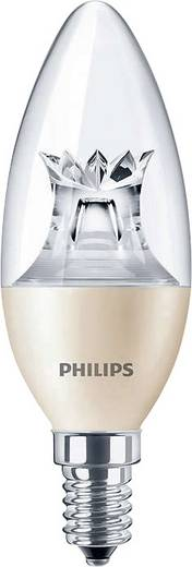 Philips Lighting LED E14 Kerzenform 4 W = 25 W Warmweiß (Ø x L) 38 mm x 113 mm EEK: A+ dimmbar (Dimtone) 1 St.