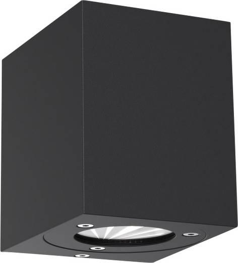 LED-Außenwandleuchte 10 W Warm-Weiß Nordlux Canto Kubi 77521003 Schwarz