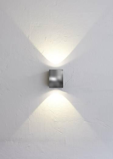 Nordlux Canto Kubi 77521034 LED-Außenwandleuchte 10 W Warm-Weiß Edelstahl