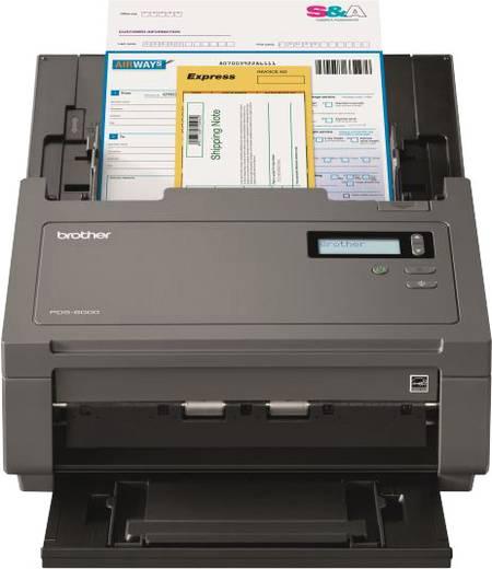 Brother PDS-6000 Duplex-Dokumentenscanner A4 600 x 600 dpi 80 Seiten/min, 160 Bilder/min USB