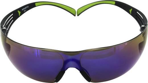 Schutzbrille verspiegelt 3M SecureFit 400 UU001467875 Schwarz, Grün
