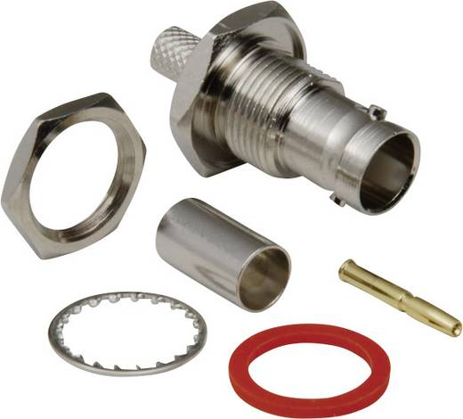 BNC-Steckverbinder Buchse, Einbau vertikal 75 Ω BKL Electronic 0401070/D 1 St.