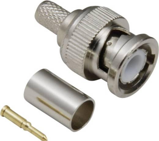 BNC-Steckverbinder Stecker, gerade 50 Ω BKL Electronic 0401000 1 St.