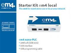 Image of SPS-Starterkit Crouzet EM4 local 88981106 24 V/DC