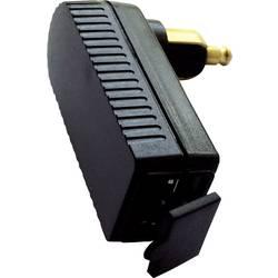 BAAS USB uhlový adaptér / nabíjačka 2A pre malé zásuvky DIN Prúdová zaťažiteľnosť (max.)=2 A Vhodný pre pre všetky zásuvky DIN ISO4165