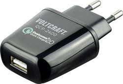 USB nabíjačka VOLTCRAFT QCP-2400, čierna