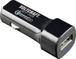 USB nabíjačka VOLTCRAFT CQCP-2400, čierna