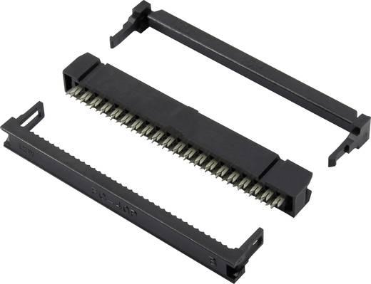 Connfly Pfosten-Steckverbinder Rastermaß: 2 mm Polzahl Gesamt: 12 Anzahl Reihen: 2 1 St.