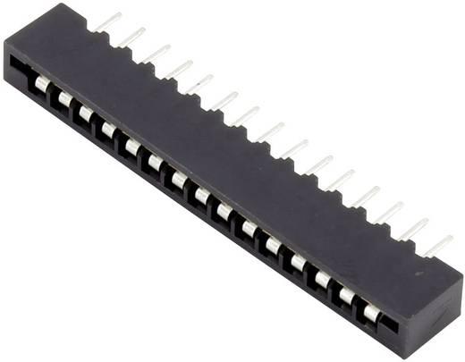 Connfly Buchsengehäuse-Platine Polzahl Gesamt 11 Rastermaß: 2.54 mm 1390004 1 St.