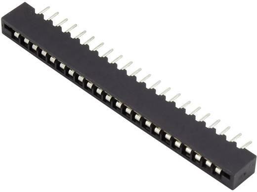 Connfly Buchsengehäuse-Platine Polzahl Gesamt 18 Rastermaß: 2.54 mm 1390028 1 St.