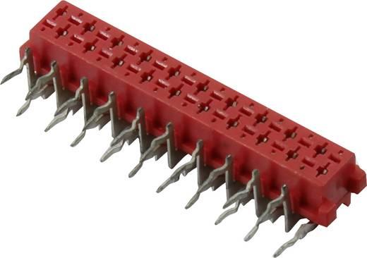 Connfly Stiftgehäuse-Platine Micro-MaTch Polzahl Gesamt 10 Rastermaß: 1.27 mm 93040C179 1 St.