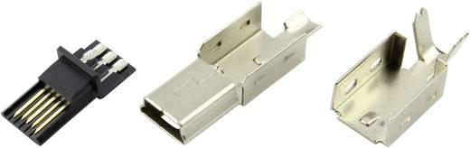 Mini USB B Stecker Stecker, gerade DS1105-01-BBN0 Connfly Inhalt: 1 St.