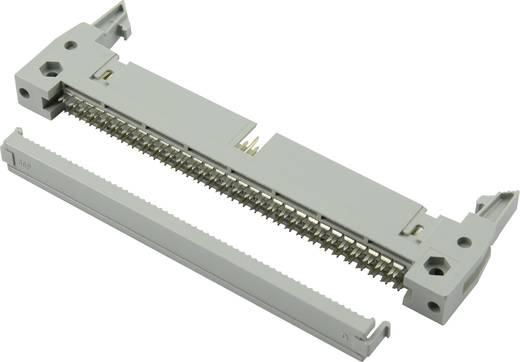 Pfosten-Steckverbinder mit Auswurfhebel lang, mit Zugentlastung Rastermaß: 2.54 mm Polzahl Gesamt: 14 Anzahl Reihen: 2 C