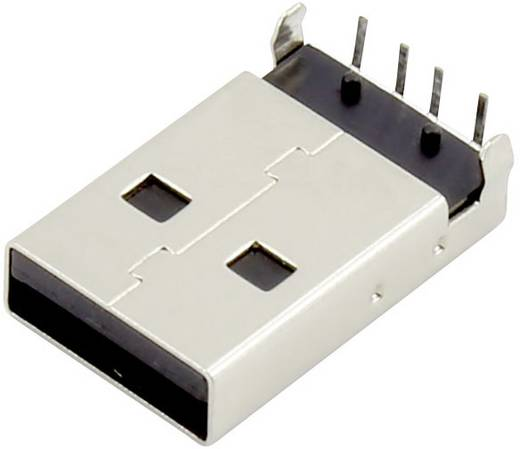 USB A Stecker Buchse, Einbau horizontal DS1097-BN0 Connfly Inhalt: 1 St.