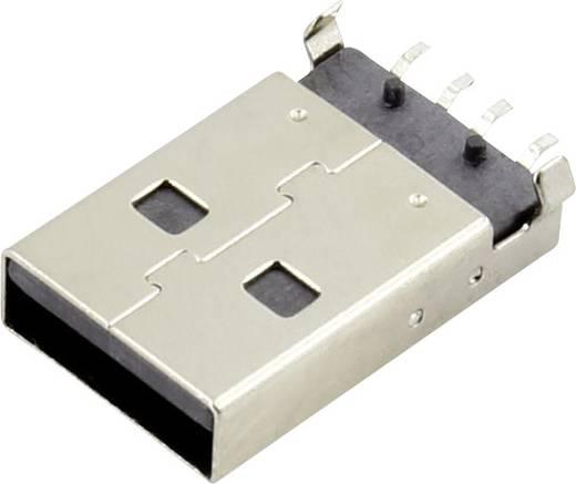 USB A Stecker Buchse, Einbau horizontal DS1098-BN0 Connfly Inhalt: 1 St.