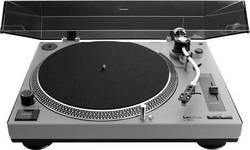 USB gramofon Lenco L3808, přímý pohon, šedá