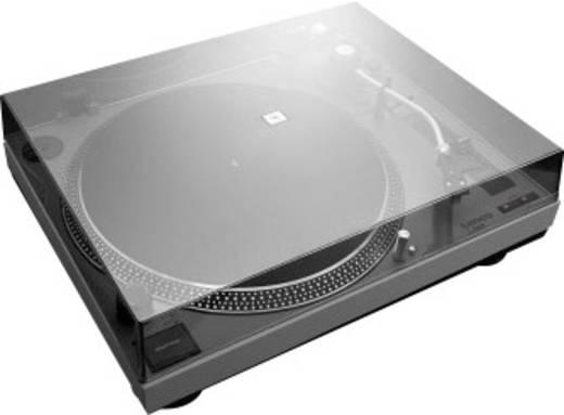 Lenco L3808 USB-Plattenspieler Direktantrieb Grau