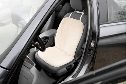 Unitec 75777 Sitzbezug 1 Stück Polyester, Kunstfell Beige Fahrersitz