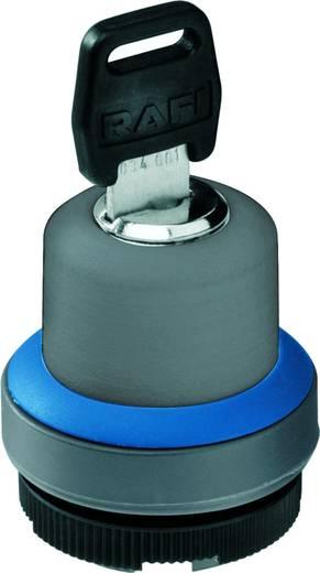 Schlüsselschalter Silber 1 x 90°/40 ° RAFI 22 FS+ RAFIX 22 FS+ 1.30.275.502/0000 2 St.