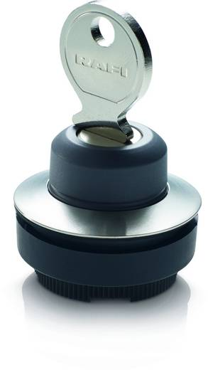 Schlüsselschalter Frontring Metall Schwarz 1 x 40 ° RAFI 30 FS+ RAFIX 30 FS+ 1.30.295.002/0000 2 St.