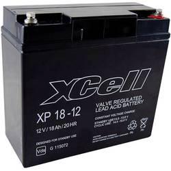 Olovený akumulátor XCell XP1712 XCEXP1812, 18 Ah, 12 V