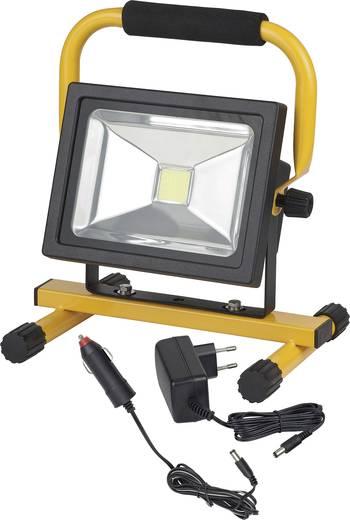 brennenstuhl baustellen beleuchtung mobile akku chip led leuchte ml ca 130 1171260301 schwarz gelb. Black Bedroom Furniture Sets. Home Design Ideas