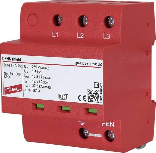 Überspannungsschutz-Ableiter Überspannungsschutz für: Verteilerschrank DEHN DSH TNC 255 941300 12.5 kA