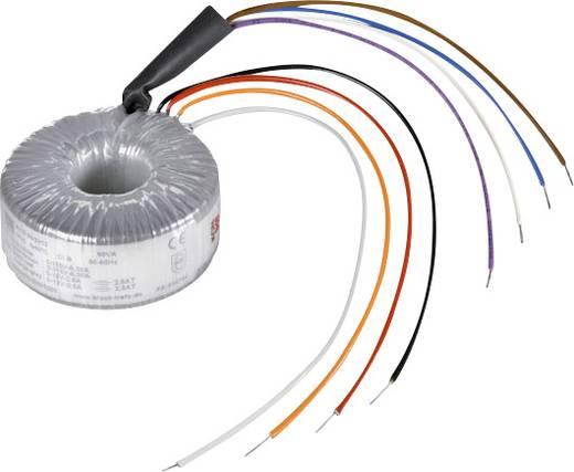 Ringkerntransformator 2 x 115 V 2 x 15 V/AC 80 VA 2.66 A RKD 80/2x15 Block