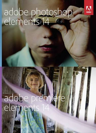 Adobe Photoshop Elements 14 & Premiere Elements 14 Upgrade, 1 Lizenz Mac, Windows Bildbearbeitung, Videobearbeitung