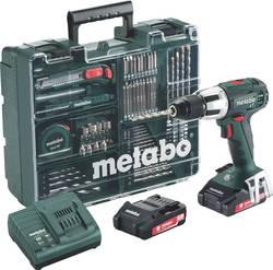 Aku příklepová vrtačka Metabo SB 18 LT 602103600, 2 akumulátory 18 V, 2 Ah