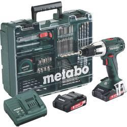 Aku príklepová vŕtačka Metabo SB 18 LT 602103600, 2 x Li-Ion akumulátor 18 V, 2 Ah