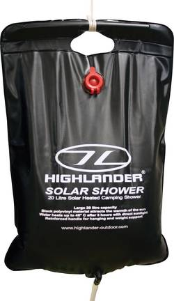 Image of Camping Dusche 20 l Highlander Solar Shower CP016