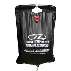 Image of Highlander CP016 Solar Shower Camping Dusche 20 l