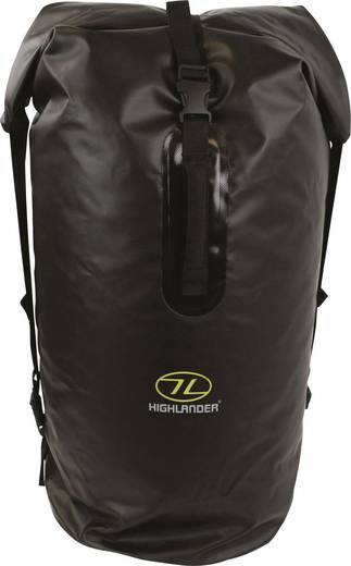 Highlander Seesack Troon 70 70 l (Ø x H) 340 mm x 620 mm Schwarz DB106-BK