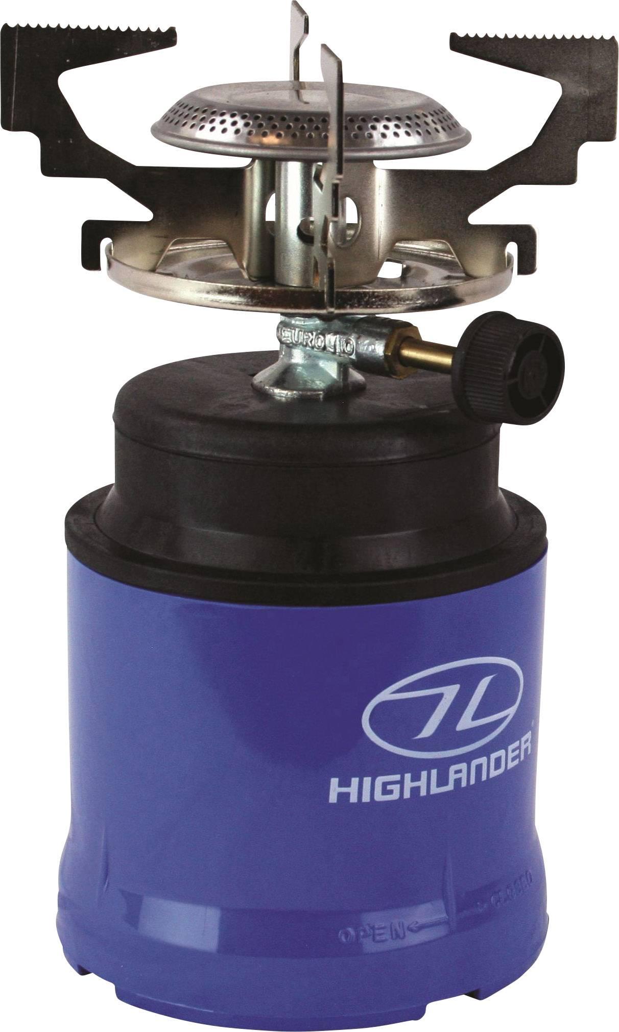 848226e56d68d3 Highlander Gas Camping Kocher Gaskocher GAS010 ABS Kunststoff ...