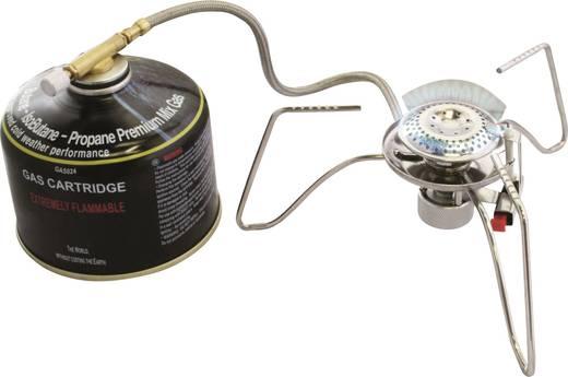 Highlander Camping Kocher Gas-Standkocher HPX300 GAS032 Aluminium, Edelstahl, Messing