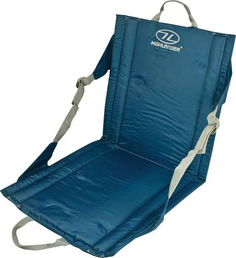 Outdoor Kissen Highlander Sitzmatte mit Rückenlehne Blau SM026