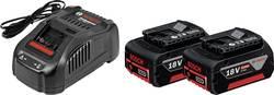 Náhradný akumulátor pre elektrické náradie, Bosch Professional GBA + GAL 1880 CV 1600A00B8J, 18 V, 5 Ah, Li-Ion akumulátor