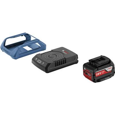 Bosch Professional Wireless Charging System, Werkzeug-Akku 18 V/4 Ah + Induktions-Ladestat Preisvergleich
