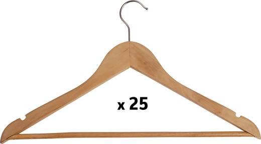 Maul Kleiderbügel 9453270 Kleiderbügel Holz Basic, 25er (B x H) 450 mm x 220 mm Holz 25 St.