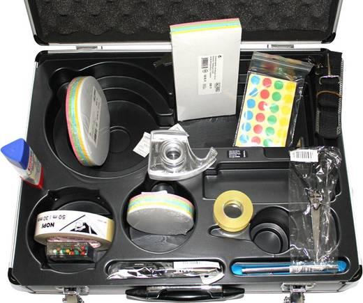 Maul Moderationsbox carry Aluminium/Kunststoff 36.5 cm x 15.5 cm x 47.5 cm Silber