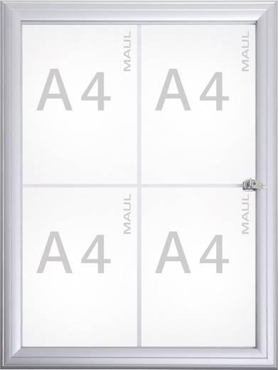 Maul Schaukasten MAULAdvanced Verwendung für Papierformat: 4 x DIN A4 Außenbereich 6973408 Aluminium Silber 1 St.