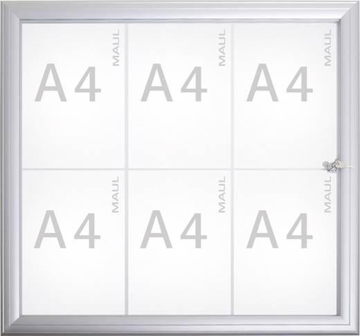 Maul Schaukasten MAULAdvanced Verwendung für Papierformat: 6 x DIN A4 Außenbereich 6973608 Aluminium Silber 1 St.