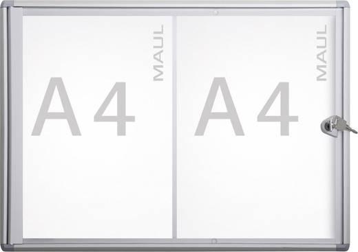 Maul Schaukasten MAULextraslim Verwendung für Papierformat: 2 x DIN A4 Innenbereich 6820208 Aluminium Silber 1 St.