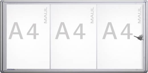 Maul Schaukasten MAULextraslim Verwendung für Papierformat: 3 x DIN A4 Innenbereich 6820308 Aluminium Silber 1 St.