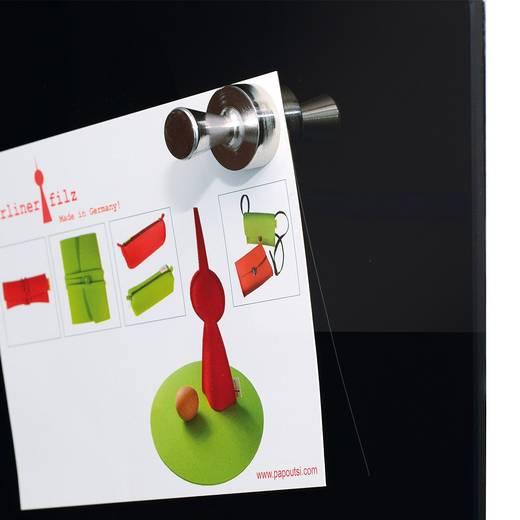 Maul Neodym Magnet (Ø x H) 20 mm x 24 mm Kegel Silber 4 St. 6168896