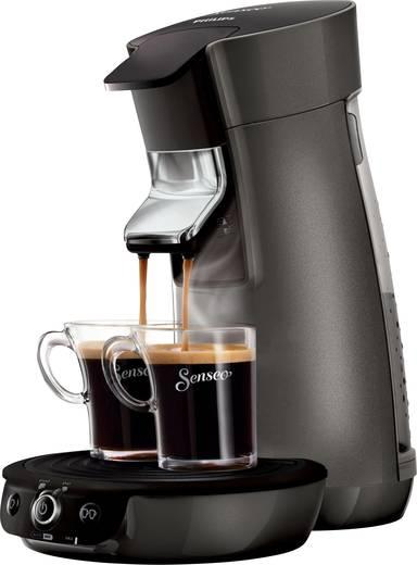 SENSEO® Viva Café Style HD7833/50 Kaffeepadmaschine Titan-Schwarz Höhenverstellbarer Kaffeeauslauf