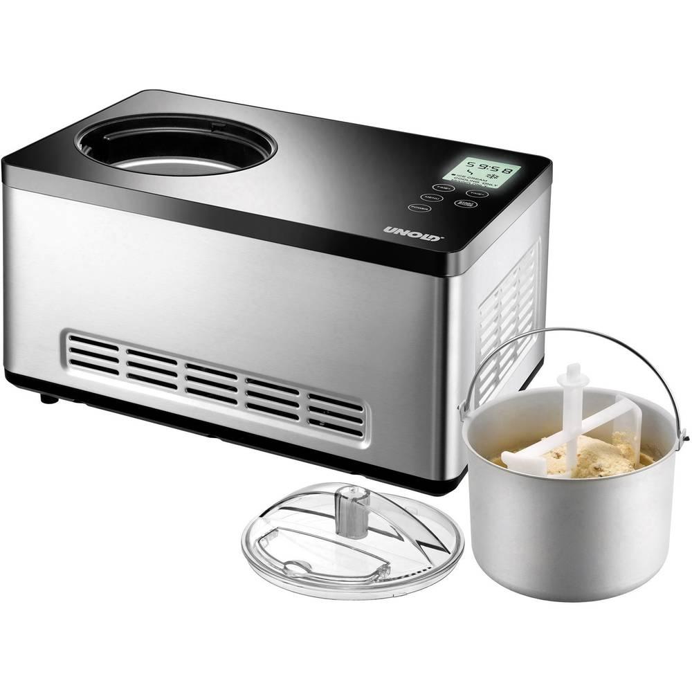 Macchina per il gelato incl refrigeratore unold 48845 - Macchina per il gelato in casa ...