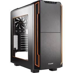 Herné puzdro midi tower BeQuiet Silent Base 600 Window, oranžová, čierna