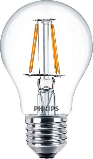 Philips Lighting LED E27 Glühlampenform 4.3 W = 40 W Warmweiß (Ø x L) 60 mm x 104 mm EEK: A++ Filament 1 St.